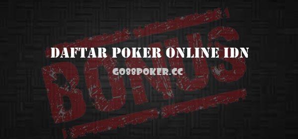 Panduan Mudah Daftar Poker Online IDN Play Resmi Terpercaya